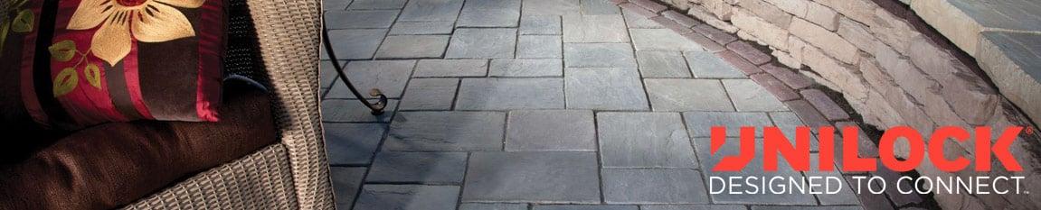 Unilock Stone Installation