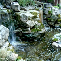 landscaping waterfalls evansville indiana