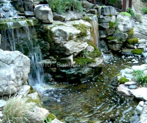 landscaping waterfalls evansville indiana