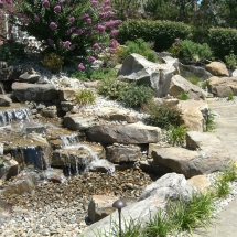 waterfall design evansville in