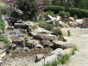 waterfall design evansville in