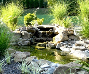 landscaping waterfalls evansville IN