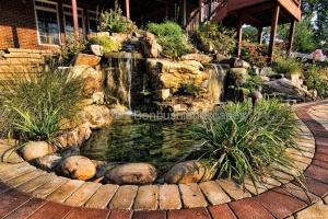 waterfall landscaping design