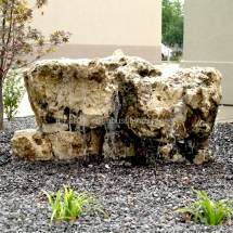 large boulders landscaping design indiana