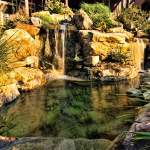 waterfall landscaping design evansville