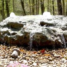 waterfall landscaping design evansville