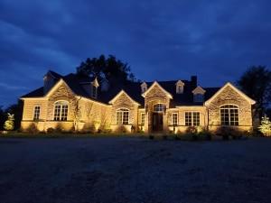 LED landscape lights evansville Indiana